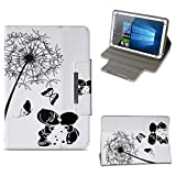 NAUC Tablet Tasche für Acer Iconia Tab 10 A3-A50 Hülle Schutzhülle Case Schutz Cover, Farben:Motiv 8