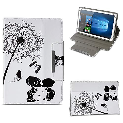 NAUC Schutzhülle kompatibel für Archos 101 Platinum 3G Tablet Tasche Hülle Hülle Cover Stand Etui Bag, Farben:Motiv 8