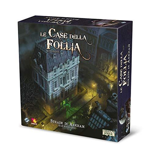 Asmodee Le Case della Follia, Seconda Edizione: Le Strade di Arkham, Espansione Gioco da Tavolo, Edizione in Italiano, 9404