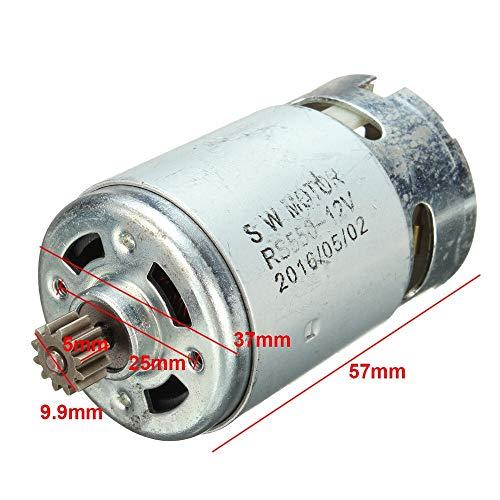 F-MINGNIAN-TOL 1 stuk 12/14,4/18 V 12 Teeths elektrische aandrijving DC motor voor boormachine, onderhoud van reserveonderdelen