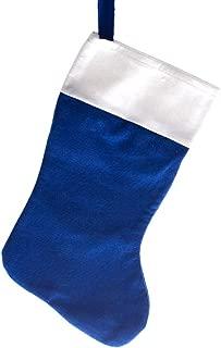 Century Novelty Blue Felt Christmas Stocking