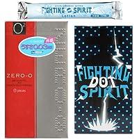 リンクルゼロゼロ 1000 8個入り + FIGHTING SPIRIT(ファイティングスピリット) コンドーム DOT 12個入り + ファイティングスピリット ローション1本 セット