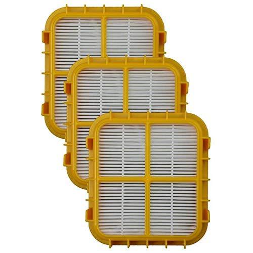 NICERE Recambios para aspiradoras 3 filtros de repuesto HEPA filtros de vacío para modelos verticales Eureka HF-10 8800, 8850, 8900