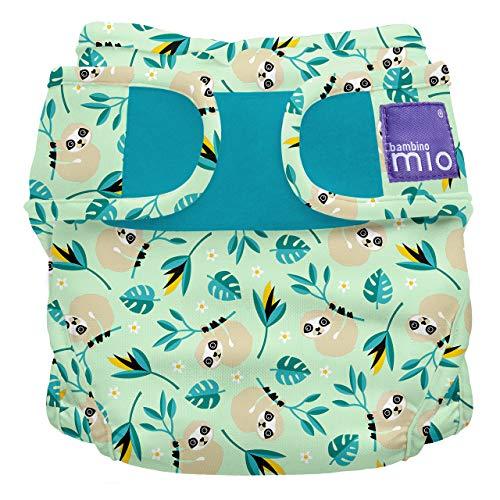 Bambino Mio, miosoft windelüberhose, schaukelndes faultier, Größe 2 (9kg+)