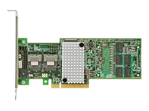 Intel RAID Controller RS25DB080 - Speichercontroller (RAID) - 8 Sender/Kanal - SATA 6Gb/s / SAS 6Gb/s Low Profile - 6 GBps - RAID 1, 5, 6, 10, 50, 60