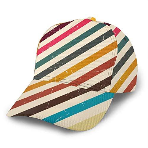 Quintion Cooper - Gorra de béisbol ajustable para mujer, color negro