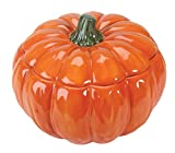 Orange Pumpkin Collectible Vegetable Ceramic Soup Bowl