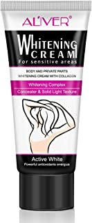 Underarm Whitening Cream, Armpit Lightening and Brightening Deodorant Cream, Body Creams, Underarm Repair Whitening Cream Between Legs Knees Sensitive Areas 60 ML