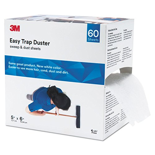 "3M 59032W Easy Trap Duster, 5"" X 30ft, White, 60 Sheets/Box"