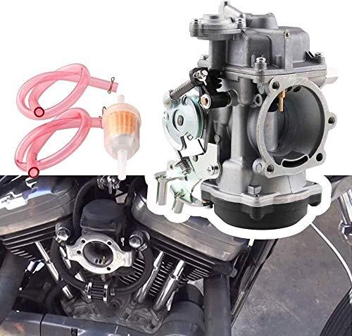 Pohu piezas de la moto por 40mm CV carburador de la motocicleta de Carb for Sportster 883 1200 Electra Glid accesorios de la motocicleta Calidad superior