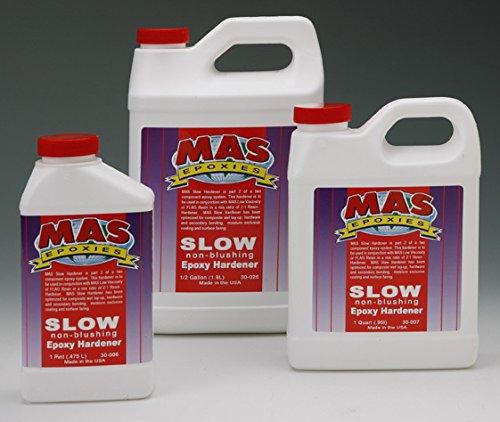 MAS Slow No Blush Hardener - Quart (Slow No Blush Catalyst)