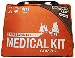 best first aid kit reviews, first aid kits, best first aid kit for hunting and fishing trips, sportsman series grizzly first aid kit