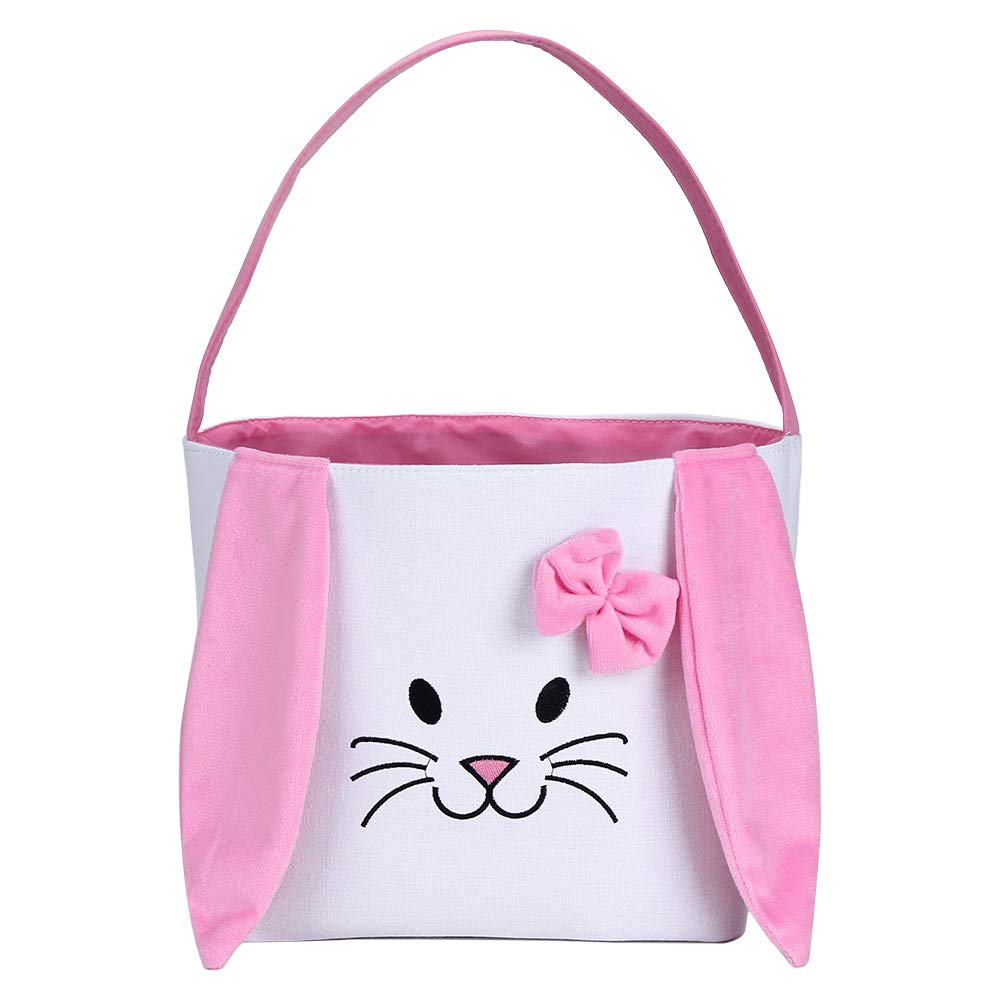 Bunny Outstanding Easter Basket for Kids Gift Bags Personalized Eggs Genuine