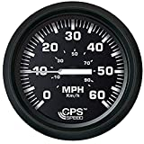 FARIA BEEDE 32816 Euro Speedometer GPS (60 MPH) Studded - 4, Black