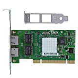 Soapow For Intel 8492MT 82546EB PCI Dual Port Gigabit LAN Ethernet Adapter Network Card NIC
