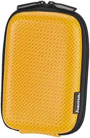 Hama Hardcase Carbon Style 60 H Kameratasche Orange Kamera