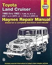 Toyota Land Cruiser FJ40, 43,45, 55 & 60, '68'82 (Haynes Repair Manuals) by John Haynes (1989-07-30)