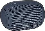 LG XBOOM Go PL2, tragbarer Bluetooth-Lautsprecher (IPX5-Spritzwasserschutz, 10+ h Akkulaufzeit), schwarz [Modelljahr 2020]