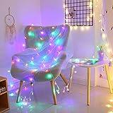 FNCUR Navidad LED Linterna Luces Intermitentes Estrellas Luces De La Habitación...
