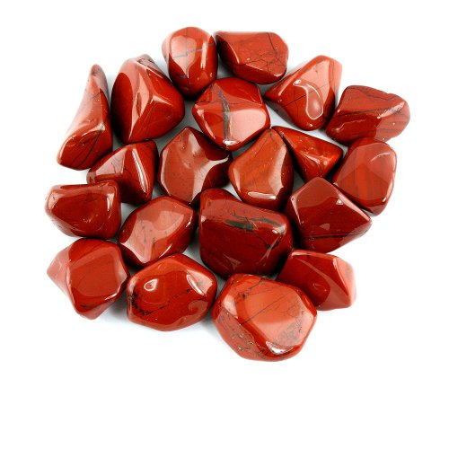 Tumbled Red Jasper Stones by Nature Land Candles