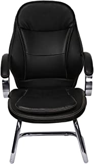 Pan Gulf 901_B Office Chair without Wheels - Black