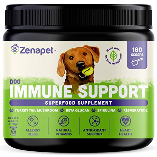 Top 10 best selling list for immune system booster supplements for dogs