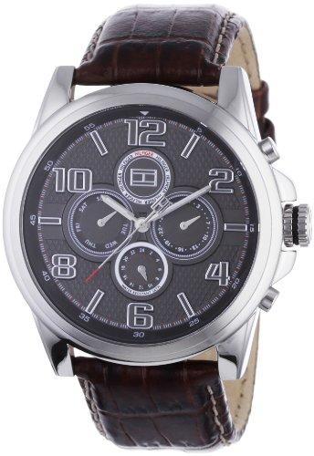 Tommy Hilfiger Franklin 1710242 - Reloj de Caballero de Cuarzo, Correa de Piel Color marrón