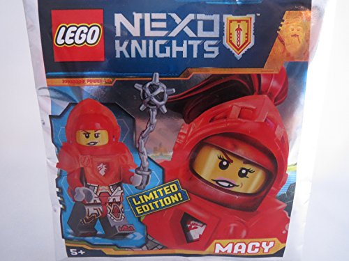 LEGO Nexo Knights Figur Macy mit Morgenstern - Limited Edition - 271720 - Polybag -