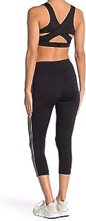 BCBGeneration Women's Side Stripe Capri Leggings