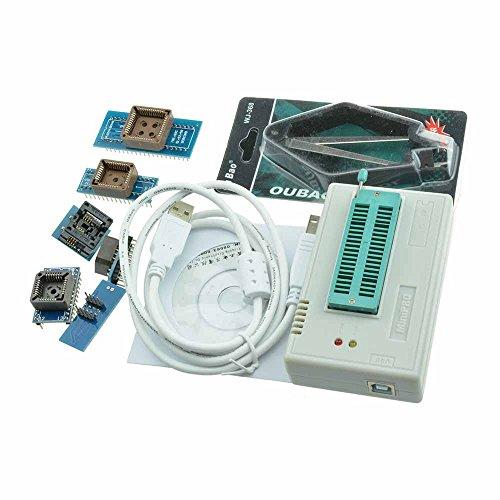 Mirocle TL866CS Programmierer USB EPROM FLASH BIOS 6 Adapter Steckdosenauszieher für 13000 IC