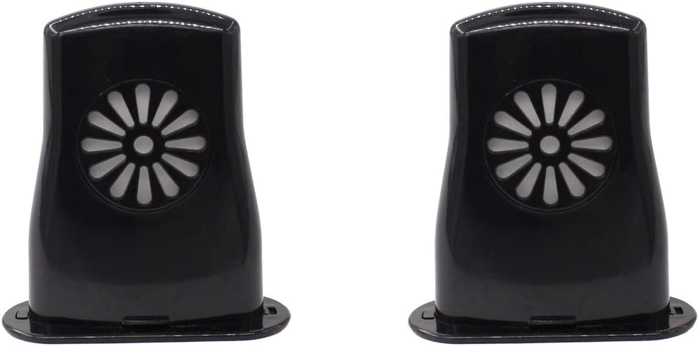 XtremeAmazing Pack of 2 Black SALENEW very popular Acoustic H Large-scale sale Sound Humidifier Guitar