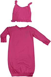 KicKee Pants Baby Girls' Layette Gown & Hat Set (Baby)