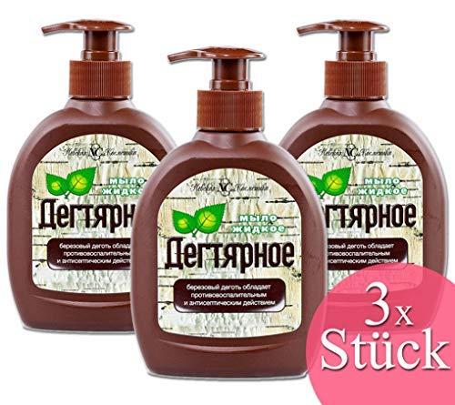 *SET*Seife mit natürlichem Birkenteer Extrakt 3 X 300ml