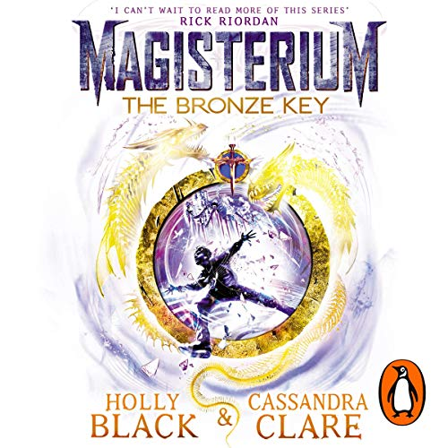 Magisterium: The Bronze Key audiobook cover art