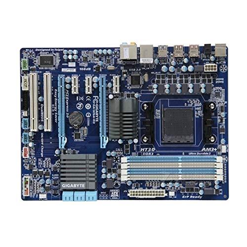 WSDSB Scheda Madre del Computer Fit for Gigabyte GA-970A-D3 Desktop Board 970A-D3 per AMD 970 Presa AM3 AM3 + DDR3 Scheda Madre Desktop
