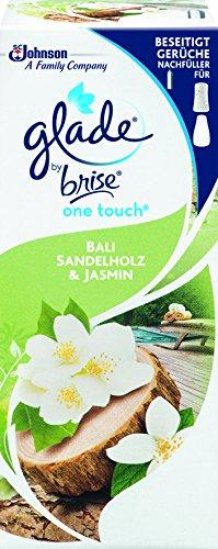 Preisvergleich Produktbild Glade by Brise One Touch Minispray,  Raumduft,  Nachfüller Bali Sandelholz & Jasmin,  3er Pack (3 x 10 ml)