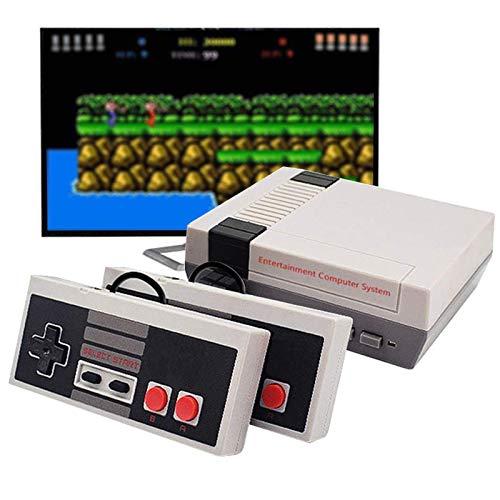 Papee Mini Edition Classica Console, Portatile retrò Classico Console di Gioco, 620 Giochi Classici Integrati e 2 Videogiochi con Uscita AV del Controller Classico NES