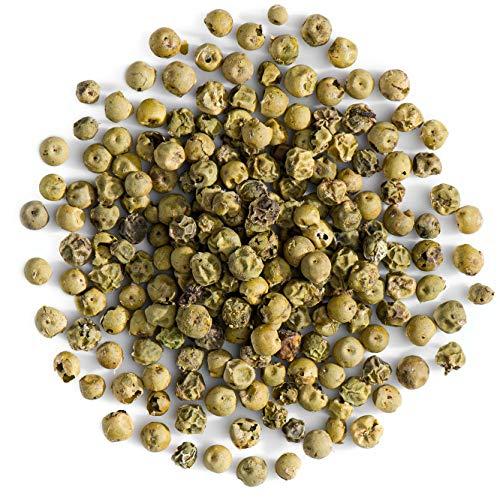 Pimienta Verde Orgánica En Grano - Granos Pimienta Verde Enteros - Maíz De Pimienta Gourmet - 100g