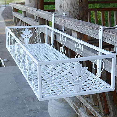 Supporto per piante Espositore per fiori in ferro da appendere Portavaso per fiori Guardrail Balcone Piante grasse Geranio Supp
