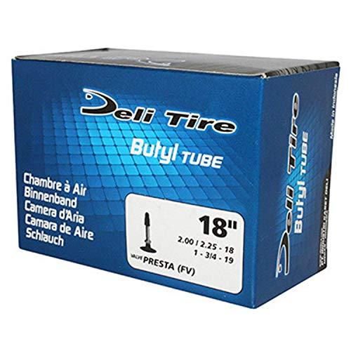 Chambre à air Deli Tire moto valve presta 2.00-18 2.25-18 1.75-19 Neuf