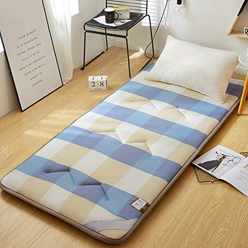 Tatami Bed Mattress, Folding Floor Sleeping Mattress Mat Breathable Soft Thick Futon Mattress Single Double Mattress For Living Room (Color : D, Size : Full)