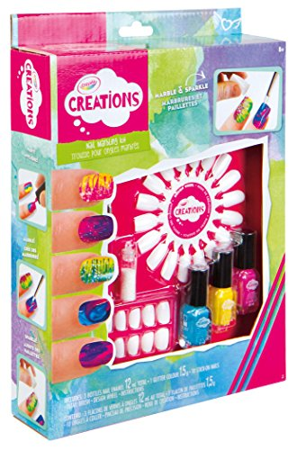Crayola Creations - 26209 - Kit d'ongles - Marbling