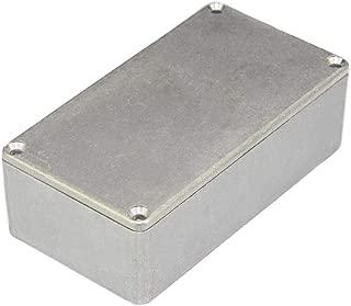 DaierTek 125B(1590N1) Aluminum Guitar Pedal Enclosure 122x66x39.5 MM Metal Stompbox Enclosure Guitar Effect Unfinished Toggle Switch Box