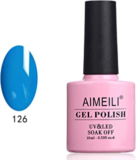 AIMEILI Soak Off UV LED Gel Nail Polish - Vanda Coerulea (126) 10ml