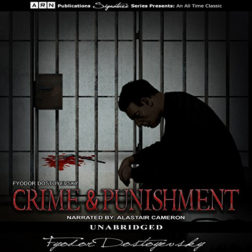 Crime and Punishment audiobook cover art