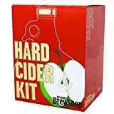 Brooklyn Brew Shop Hard Cider Making Kit: Starter Set with Reusable Glass Fermenter, Equipment, Ingredients - Perfect for Making Craft Hard Cider at Home