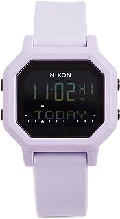 NIXON Siren A1210 - Lilac - 100 Meter / 10 ATM Water Resistant Women's Digital Sport Watch (38mm Watch Face, 18mm-16mm Band)