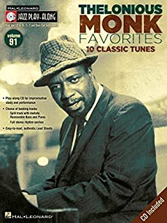 Thelonious Monk Favorites: Jazz Play-Along Volume 91