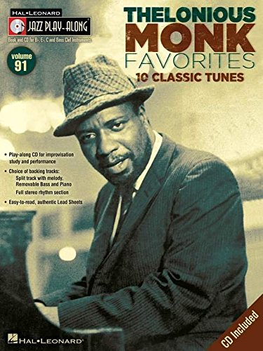 Jazz Play-Along Vol.091 Thelonious Monk + Cd