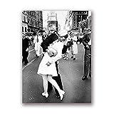 HNZKly Art Vj Day In Times Square Poster Kunstdrucke Kuss